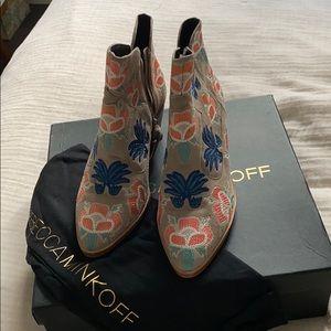 Rebecca Minkoff heeled booties size 8